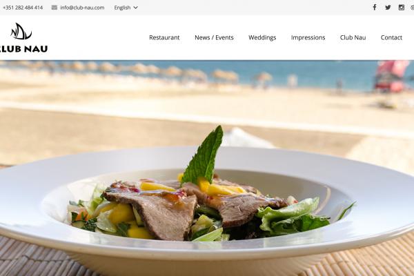 club-nau.com - Website made in Germany