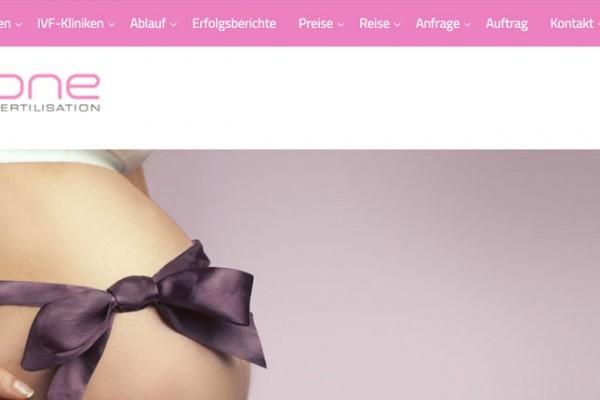 IVF-One.eu - Webdesign im MTK - frey-sein.com